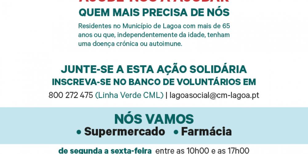 PROTEJA-SE, FIQUE EM CASA, NÓS AJUDAMOS!